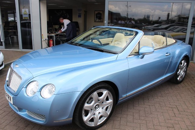 used Bentley Continental GTC . FINANCE SPECIALISTS in warrington-cheshire