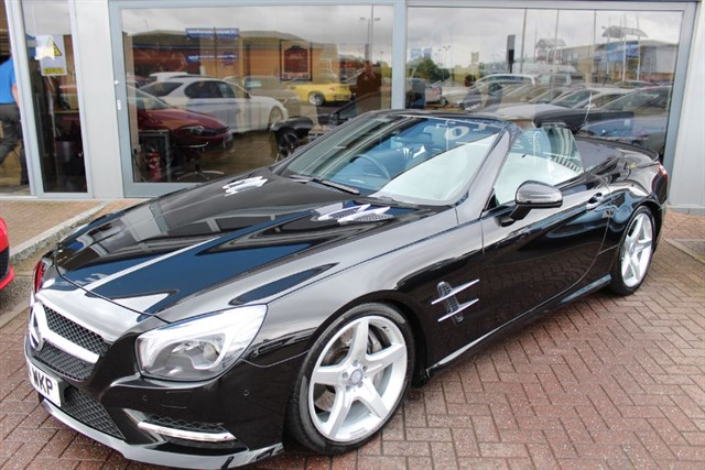 used Mercedes SL500 AMG SPORT. FINANCE SPECIALISTS in warrington-cheshire