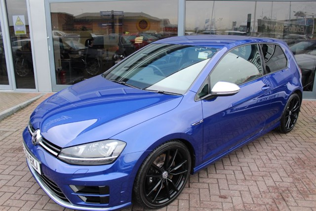 used VW Golf R DSG. FINANCE SPECIALISTS in warrington-cheshire