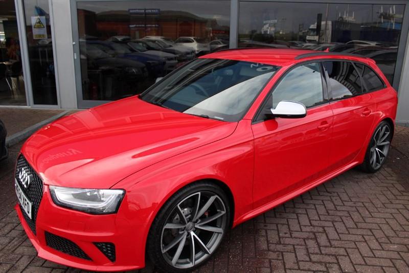 used Audi RS4 Avant FSI QUATTRO in warrington-cheshire