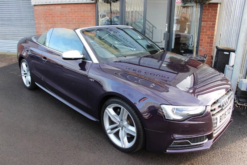 used Audi S5 TFSI QUATTRO S/S in warrington-cheshire
