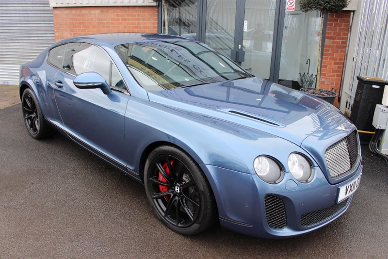 used Bentley Continental Supersports  in warrington-cheshire