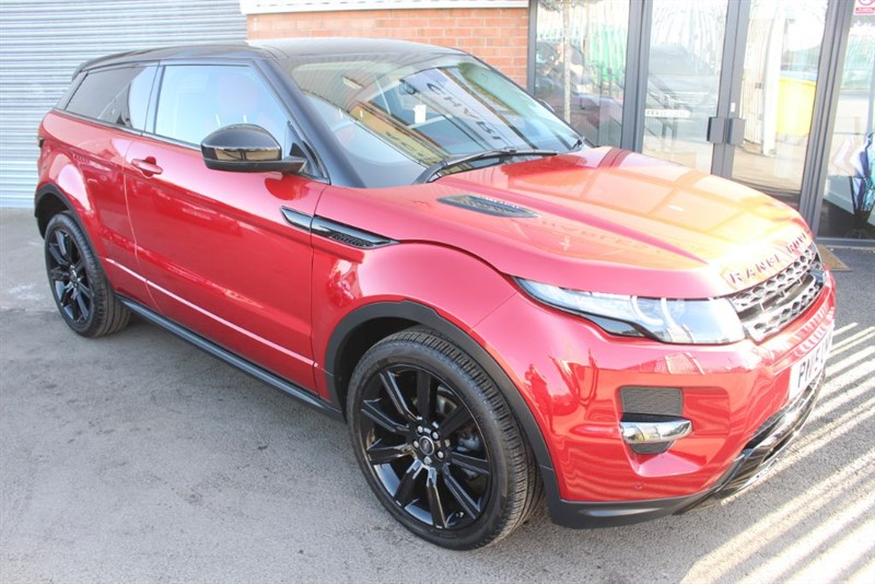 used Land Rover Range Rover Evoque SD4 DYNAMIC in warrington-cheshire