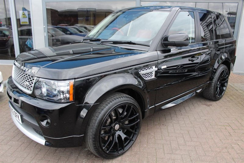 used Land Rover Range Rover Sport V8 AUTOBIOGRAPHY SPORT in warrington-cheshire