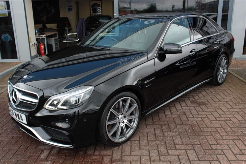 used Mercedes E63 AMG . in warrington-cheshire