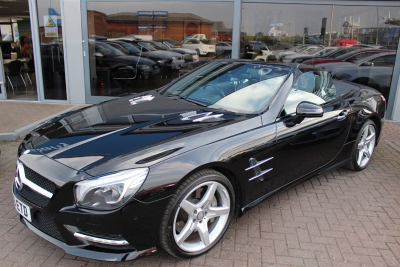 used Mercedes SL350 . *VAT QUALIFYING* in warrington-cheshire