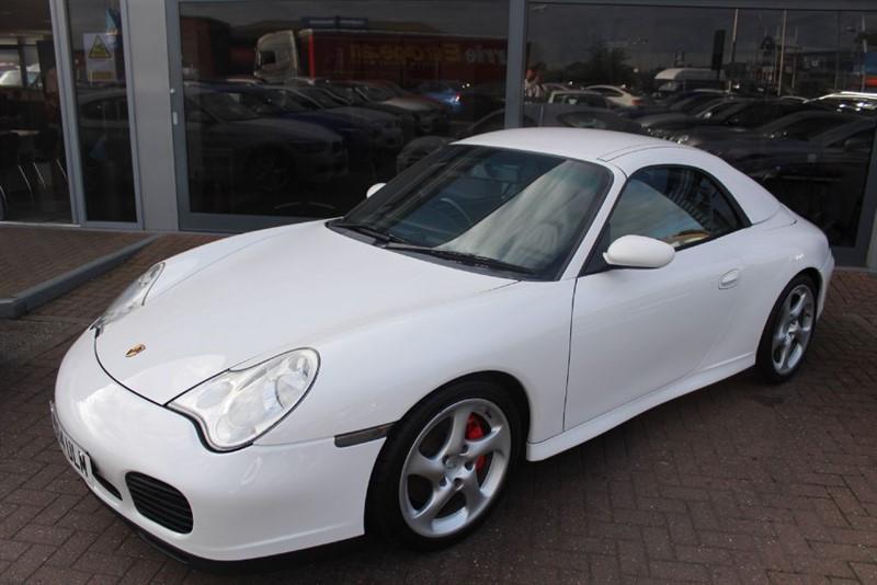 used Porsche 911 CARRERA 4 TIPTRONIC S in warrington-cheshire