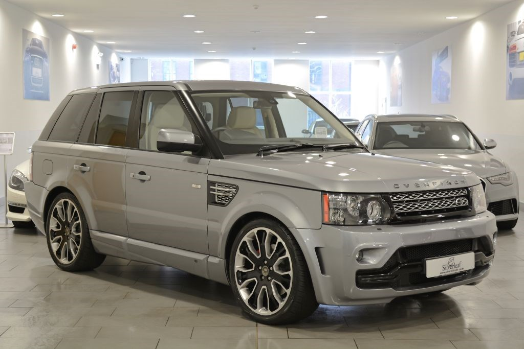 Land Rover Range Rover Sport OVERFINCH GTS BLACK EDITION