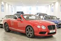 Bentley Continental GTC V8 MULLINER DRIVING SPEC