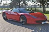 Used Ferrari 458 ITALIA DCT*7 YEAR SERVICE*