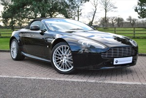 used Aston Martin Vantage V8 ROADSTER in knutsford-cheshire