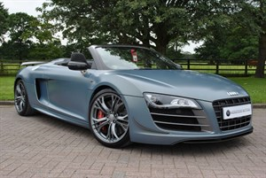 used Audi R8 GT QUATTRO V10 SPYDER, RARE LTD EDITION in knutsford-cheshire