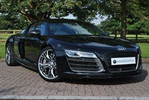 used Audi R8 V10 PLUS QUATTRO, S-TRONIC in knutsford-cheshire