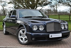 used Bentley Arnage T (450BHP) LEVEL II MULLINER in knutsford-cheshire