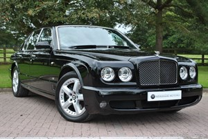 used Bentley Arnage T (500BHP) LEVEL II MULLINER in knutsford-cheshire