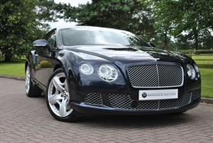 used Bentley Continental GT MDS*DARK SAPPHIRE* in knutsford-cheshire