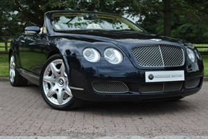 used Bentley Continental GTC MULLINER, 1 OWNER, LOW MILES in knutsford-cheshire