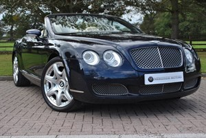 used Bentley Continental GTC Mulliner Driving Spec in knutsford-cheshire