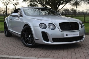 used Bentley Continental Supersports  in knutsford-cheshire