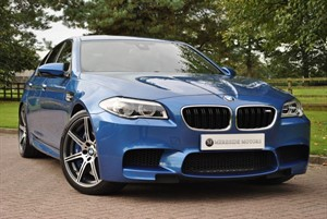 used BMW M5 Competition Package-B&O Advanced Audio System in knutsford-cheshire