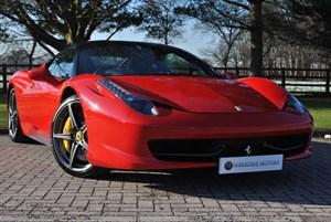 used Ferrari 458 ITALIA  in knutsford-cheshire
