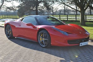 used Ferrari 458 ITALIA DCT*7 YEAR SERVICE* in knutsford-cheshire