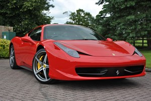 used Ferrari 458 ITALIA DCT*FRONT LIFT* in knutsford-cheshire