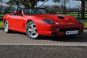 used Ferrari 550 Barchetta in knutsford-cheshire