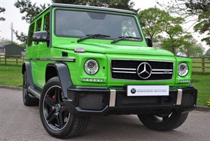 used Mercedes G Class G-CLASS AMG G 63 4MATIC COLOUR EDITION in knutsford-cheshire