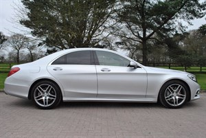 used Mercedes S350 BLUETEC AMG LINE in knutsford-cheshire
