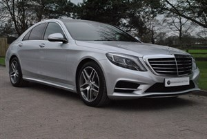 used Mercedes S350 BLUETEC AMG LINE **Panoramic Roof** in knutsford-cheshire