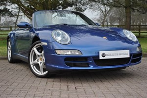 used Porsche 911 CARRERA 4 TIPTRONIC S in knutsford-cheshire