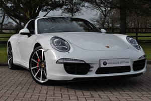 used Porsche 911 TARGA 4S PDK*HUGE SPEC*1 OWNER* in knutsford-cheshire