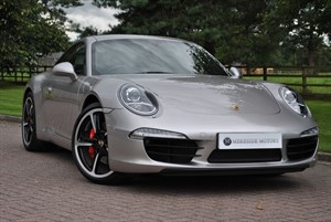 used Porsche 911 991 CARRERA S PDK*GT SILVER* in knutsford-cheshire