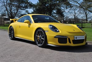 used Porsche 911 GT3 PDK*2015*AXLE LIFT*CERAMICS* in knutsford-cheshire
