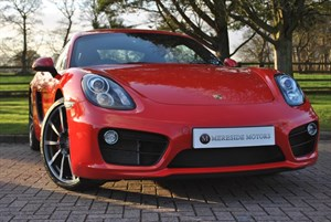 used Porsche Cayman 24V S PDK in knutsford-cheshire