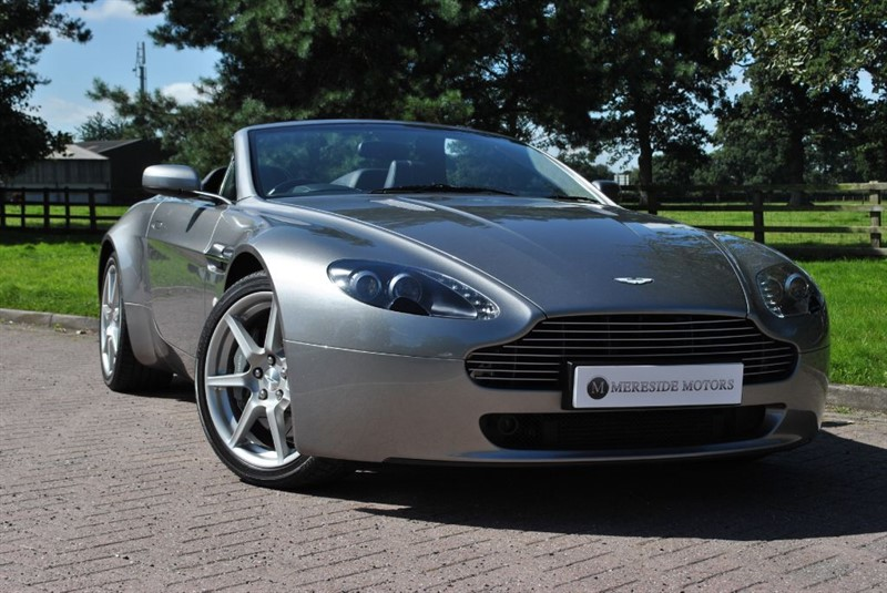 used Aston Martin Vantage 4.3 V8 Roadster Sportshift in knutsford-cheshire