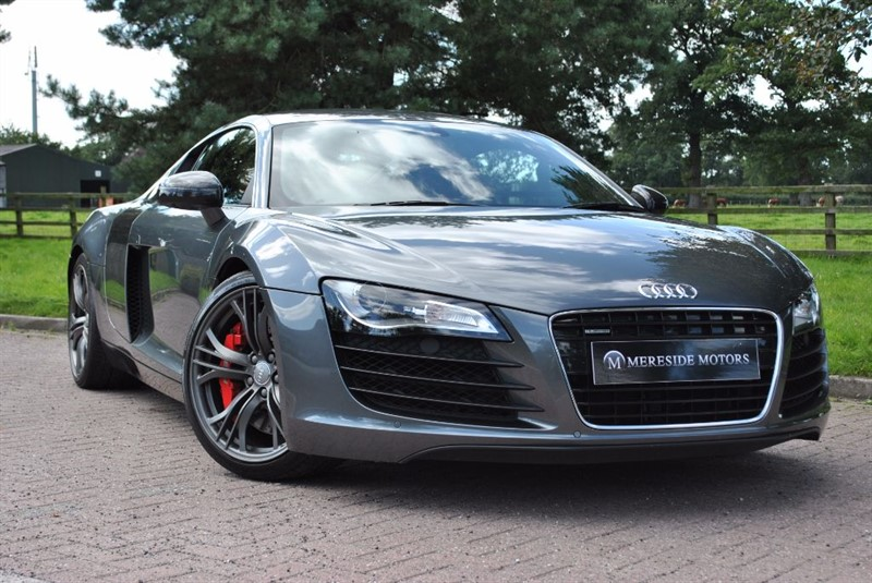 used Audi R8 V8 Limited Edition in knutsford-cheshire