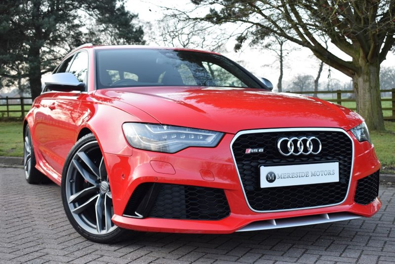 used Audi RS6 Avant Performance RS6 AVANT TFSI V8 QUATTRO in knutsford-cheshire