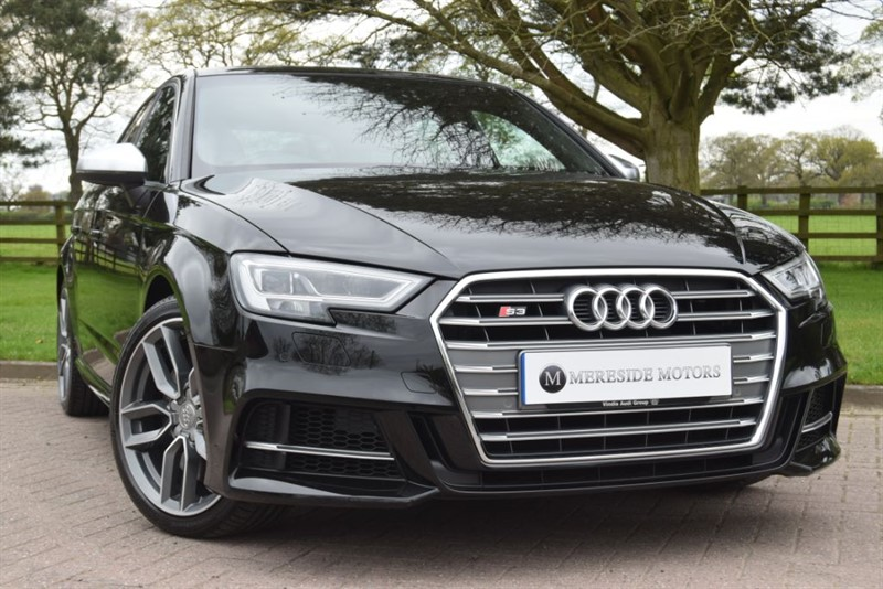 used Audi S3 S3 SPORTBACK QUATTRO in knutsford-cheshire