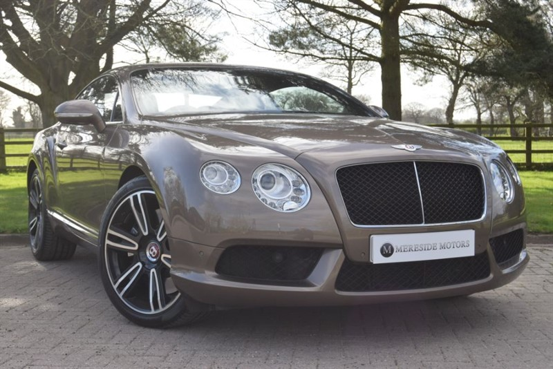 used Bentley Continental GT V8 in knutsford-cheshire