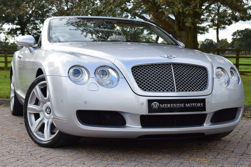 used Bentley Continental GTC 6.0 W12 * 1 Owner Only 7400 Miles * in knutsford-cheshire