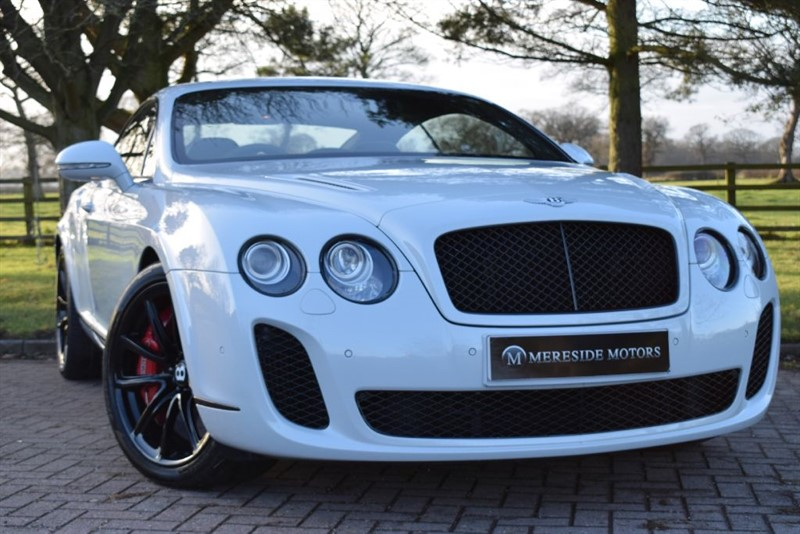 used Bentley Continental Supersports CONTINENTAL GT COUPE in knutsford-cheshire