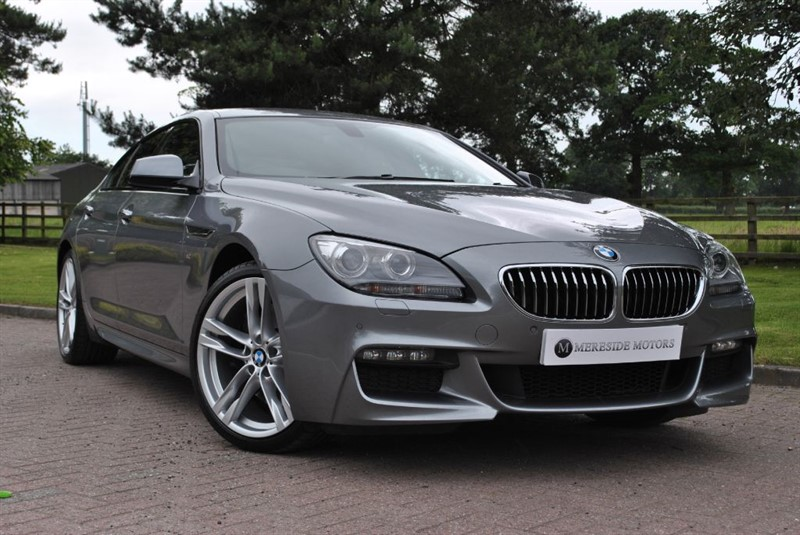 used BMW 640d M SPORT GRAN COUPE in knutsford-cheshire