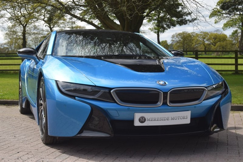 used BMW i8 VAT QUALIYFYING in knutsford-cheshire