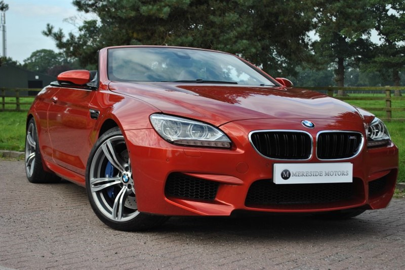 used BMW M6 Cabriolet ** Rare Colour ** in knutsford-cheshire