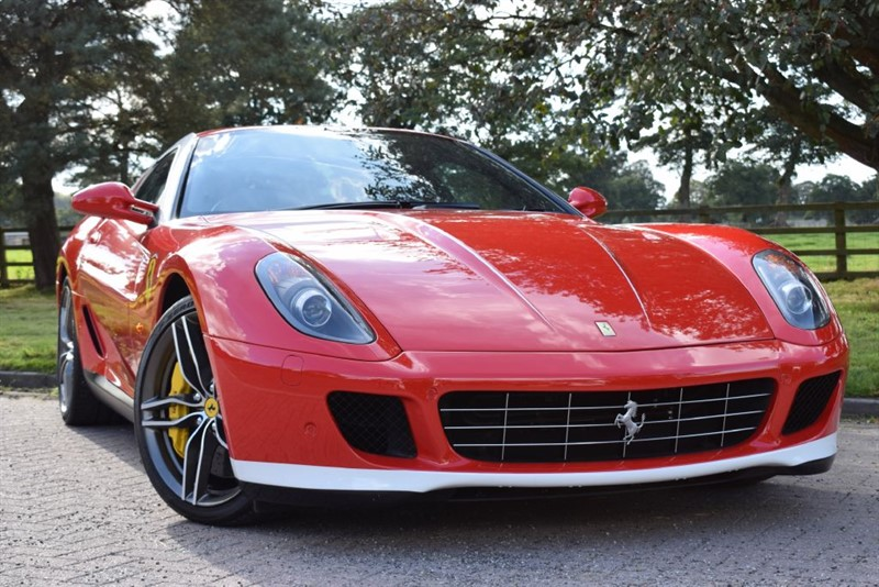 used Ferrari 599 GTB ALONSO F1 * 1 of 6 UK Cars * in knutsford-cheshire