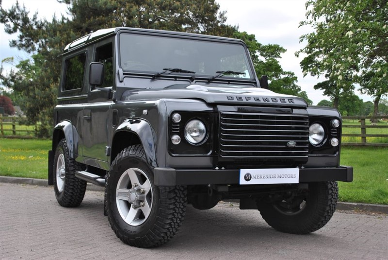 used Land Rover Defender 90 TD LANDMARK in knutsford-cheshire