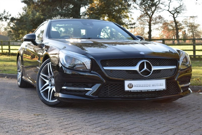 used Mercedes SL SL400 AMG SPORT in knutsford-cheshire