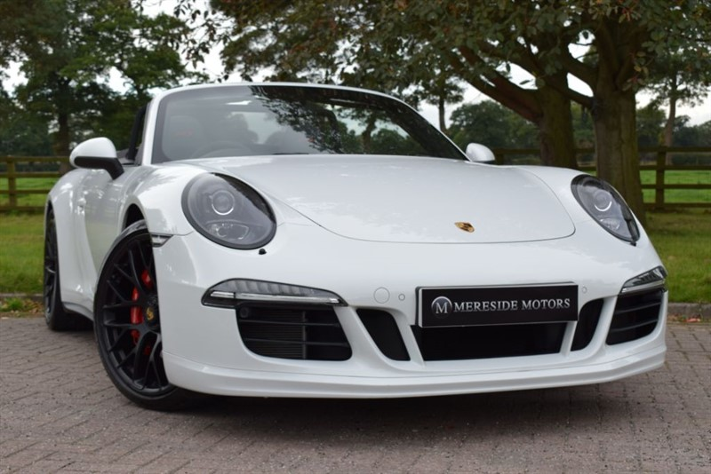 used Porsche 911 CARRERA 4 GTS PDK * 1 Owner * in knutsford-cheshire